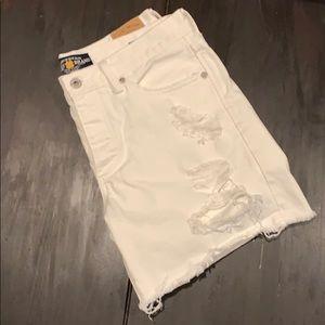 Lucky Brand White Denim Short
